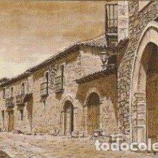Documentos antiguos: TARJETA MESON DEL ARRIERO CASTRILLO DE LOS POLVAZARES LEON - -C-3. Lote 131533642