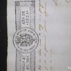 Documentos antiguos: DOCUMENTOS ANTIGUOS, LOTE. Lote 132046894