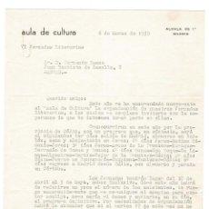 Documentos antiguos: MADRID 1959 CARTA ENVIADA POR GASPAR GÓMEZ DE LA SERNA A EDITOR BAEZA. . Lote 132223878