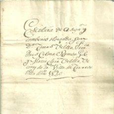 Documentos antiguos: 2043.- TORREVELILLA - CALANDA - CODOÑERA-ARAGON - LOTE DE DOCUMENTOS DE MEDIADOS DEL SIGLO XIX. Lote 132549382