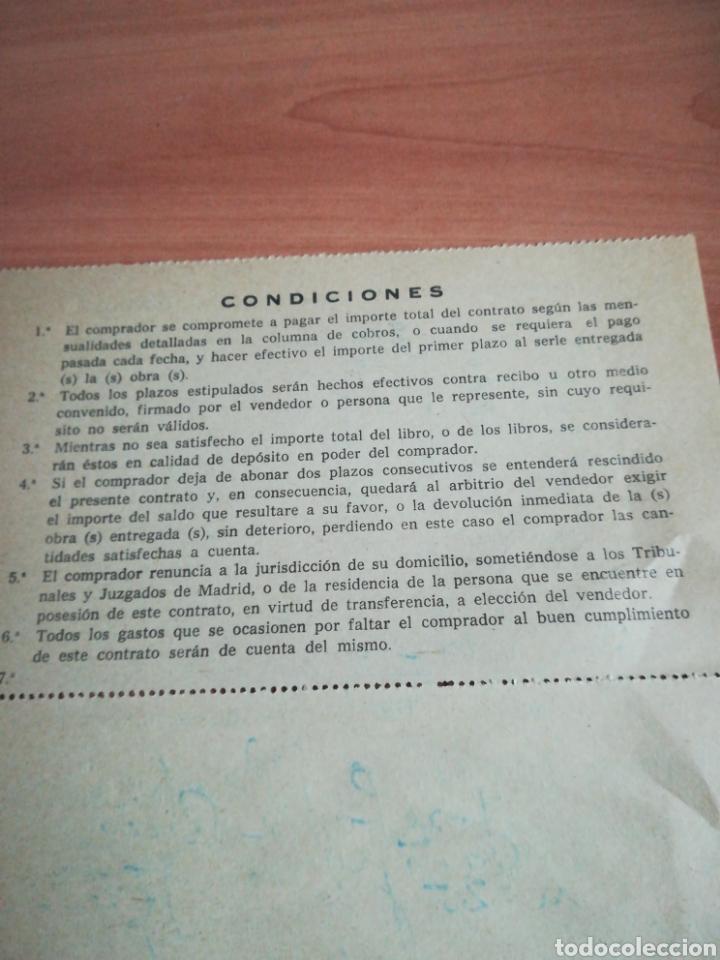 Documentos antiguos: Antiguo contrato compra venta años 60 - Foto 3 - 132724270