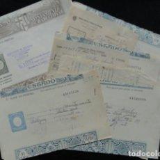 Documentos antiguos: 15 MULTAS DE TRÁFICO. AÑOS 1958, 59,60 Y 61.. Lote 132845818