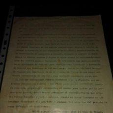 Documentos antiguos: REPUBLICA EL PARTIDO REPUBLICANO FEDERAL HISTORIA MADRID FRANCISCO DE CANTOS MADRID ELECCIONES MUNI. Lote 132925982