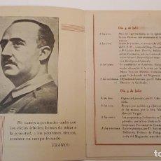 Documentos antiguos: PROGRAMA PEDAGOGÍA DIDÁCTICA DEL PÁRVULO. ANDRÉS MANJÓN. . Lote 132934498