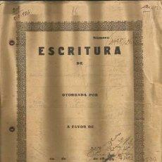Documentos antiguos: DOCUMENTO ESCRITURA ACEPTACION DE HERENCIA COSTITX 1931 MALLORCA. Lote 132982074