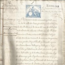 Documentos antiguos: DOCUMENTO ESCRITURA COMPRAVENTA 1880 COSTITX MANUSCRITO MALLORCA. Lote 133016878