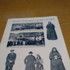 Documenti antichi: VALL D'ARAN - BOSOST, AÑO 1928 - FIESTA HOMENAJES A LA VEJEZ. Lote 133248282