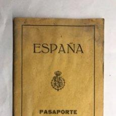 Documentos antiguos: PASAPORTE. CIUDADANA VALENCIANA. DE COMIENZOS DEL S. XX (A.1927). Lote 133679290