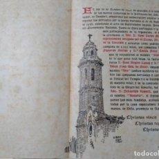 Documentos antiguos: EL VENDRELL,REPOSICIÓN DE LAS CAMPANAS,. Lote 133680298
