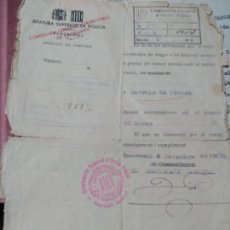 Documentos antiguos: REPUBLICA,GENERALITAT DE CATALUNYA, GUERRA CIVIL ,COMISSARIA GENERAL.. Lote 134055678