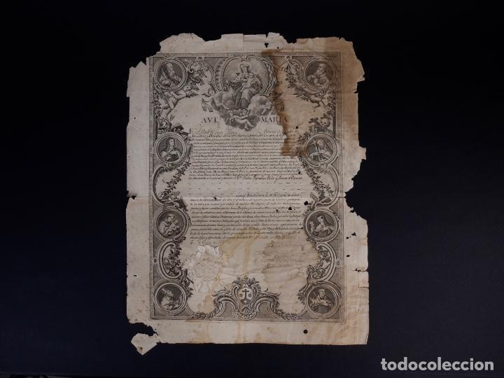 Documentos antiguos: BIENHECHORA DE LA ORDEN DE LOS/AS DESCALZOS/AS DE NTR. SRA. DEL CARMEN DE LA PRIMITIVA, MADRID 1829 - Foto 2 - 134651090