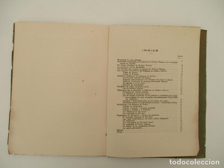 Documentos antiguos: Difusión Popular del Régimen Obligatorio de Retiros Obreros - Años 1927 - Foto 5 - 135634407