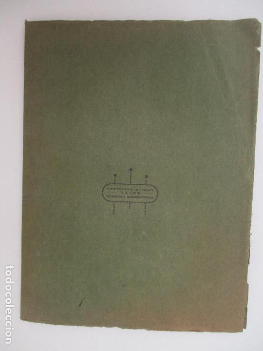 Documentos antiguos: Difusión Popular del Régimen Obligatorio de Retiros Obreros - Años 1927 - Foto 8 - 135634407