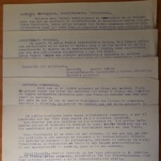 Documentos antiguos: LOTE 5 MANUSCRITOS MÉDICOS MECANOGRAFIADOS. Lote 136177497