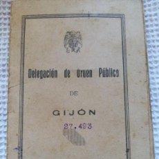 Documentos antiguos: CARNET DE IDENTIDAD 1938. Lote 136568710
