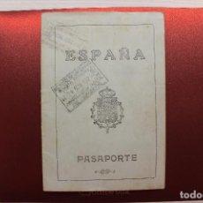 Documentos antiguos: PASAPORTE, 1925, FOTOS, VIÑETAS, ETC.. Lote 137199518