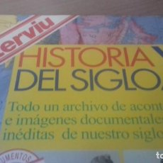 Documentos antiguos: LIBRO RECORDATORIO DE TODO EL SIGLO XX DE LA REVISTA INTERVIU. Lote 138050578