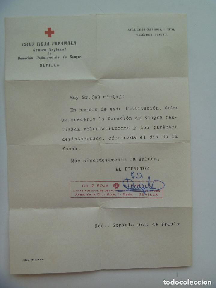 Cruz Roja Espanola Carta De Agradecimiento A Comprar En