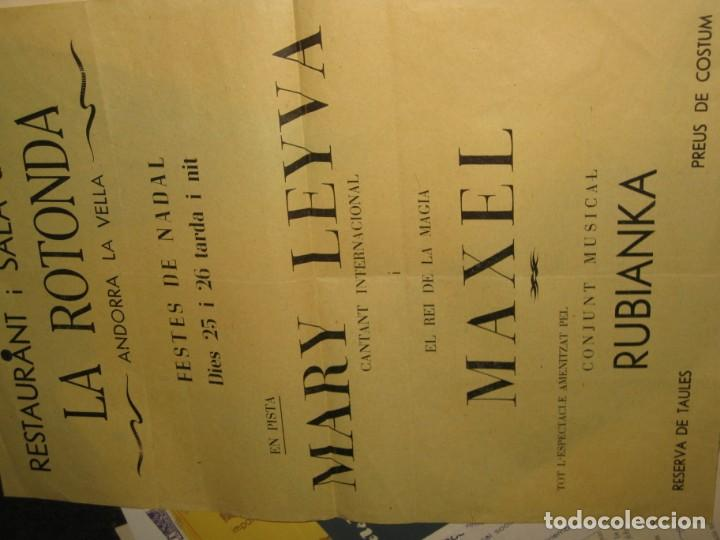 Documentos antiguos: gran lote documentos magia mago richman programas trucos revistas cartel - Foto 2 - 138826866