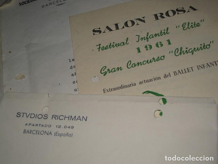 Documentos antiguos: gran lote documentos magia mago richman programas trucos revistas cartel - Foto 9 - 138826866