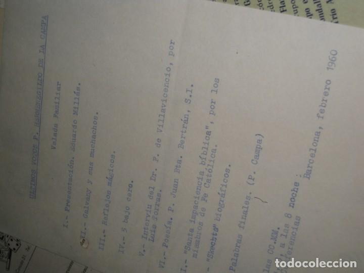 Documentos antiguos: gran lote documentos magia mago richman programas trucos revistas cartel - Foto 14 - 138826866