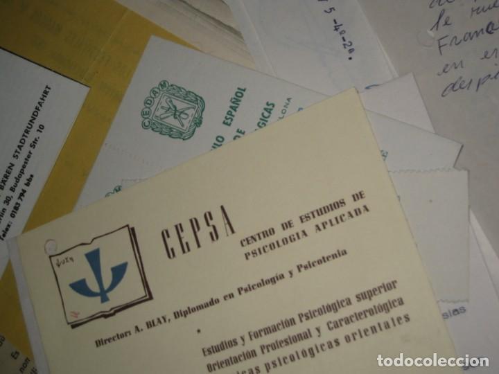 Documentos antiguos: gran lote documentos magia mago richman programas trucos revistas cartel - Foto 15 - 138826866