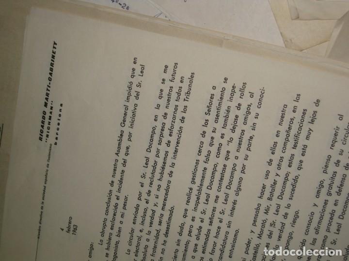 Documentos antiguos: gran lote documentos magia mago richman programas trucos revistas cartel - Foto 20 - 138826866