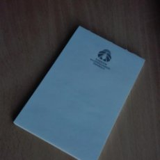 Documentos antiguos: LIBRETA NOTAS - FUNDACION FERROCARRILES ESPAÑOLES - 10 X 15 CM - 50GR - APROX 30 HOJAS. Lote 140324318