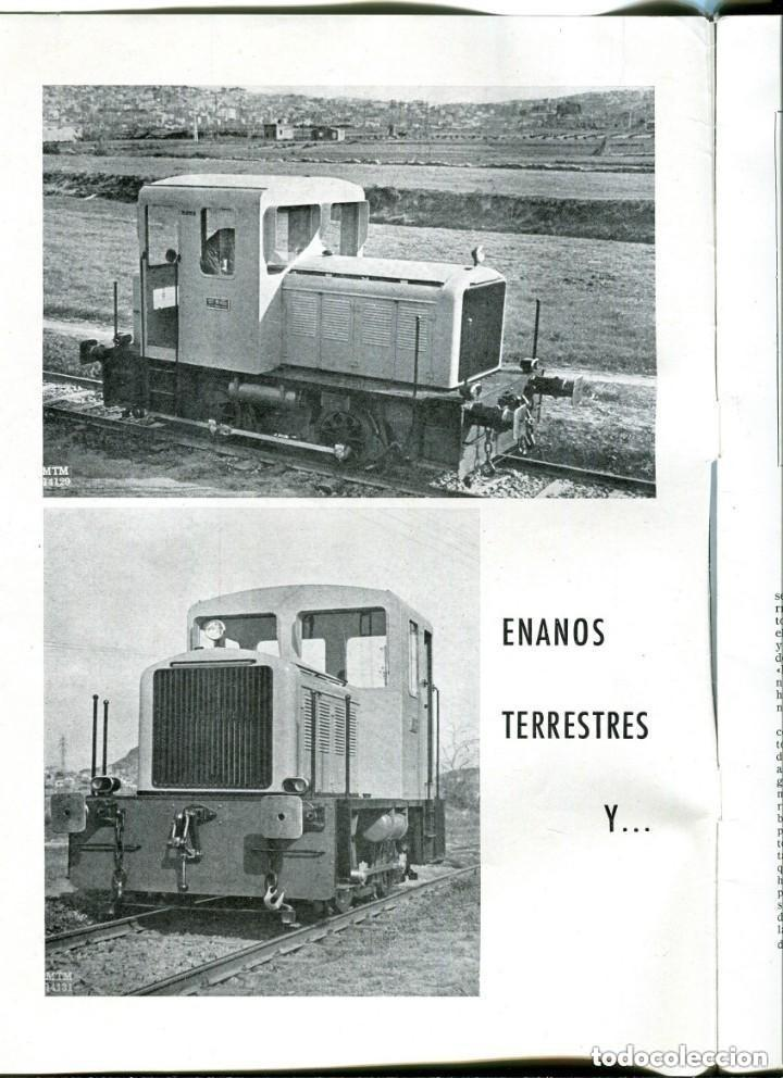 Documentos antiguos: REVISTA-LA MAQUINISTA TERRESTRE Y MARÍTIMA- SAN ANDRES DE PALOMAR- 1956 - Foto 3 - 140454634