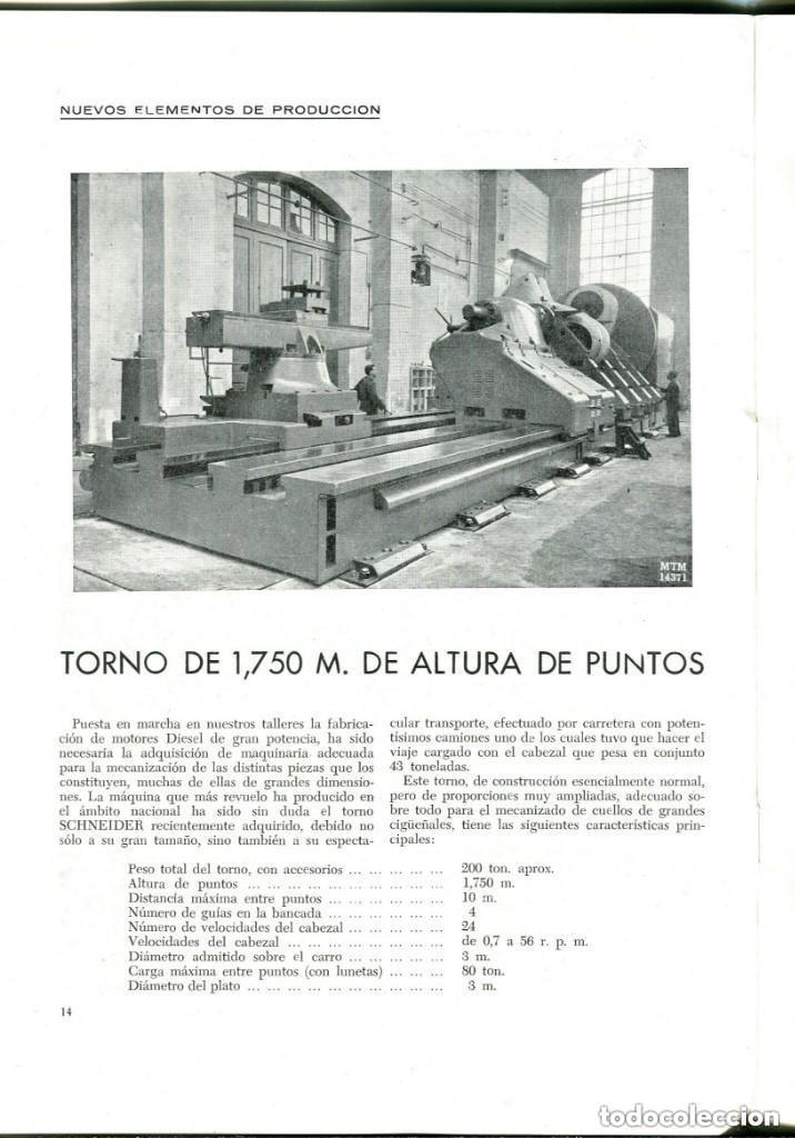 Documentos antiguos: REVISTA-LA MAQUINISTA TERRESTRE Y MARÍTIMA- SAN ANDRES DE PALOMAR- 1956 - Foto 4 - 140454634