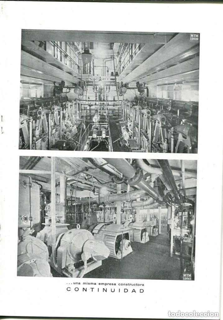 Documentos antiguos: REVISTA-LA MAQUINISTA TERRESTRE Y MARÍTIMA- SAN ANDRES DE PALOMAR- 1956 - Foto 5 - 140454634