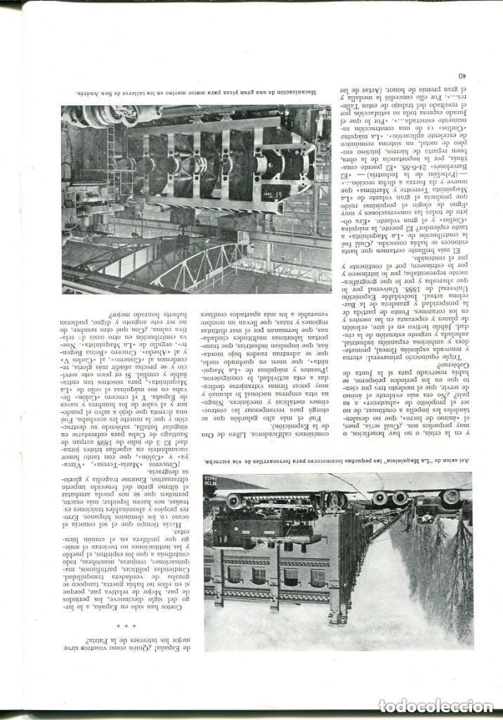 Documentos antiguos: REVISTA-LA MAQUINISTA TERRESTRE Y MARÍTIMA- SAN ANDRES DE PALOMAR- 1956 - Foto 7 - 140454634