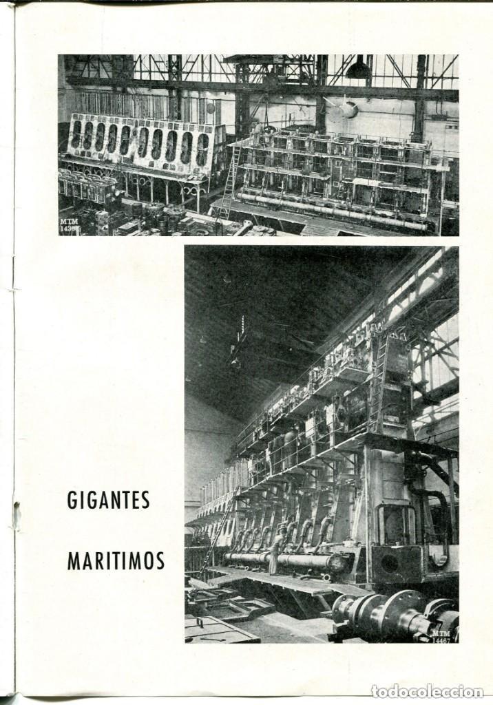 Documentos antiguos: REVISTA-LA MAQUINISTA TERRESTRE Y MARÍTIMA- SAN ANDRES DE PALOMAR- 1956 - Foto 8 - 140454634