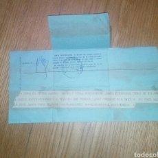 Documentos antiguos: TELEGRAMA JUNTA ELECTORAL ELECCIONES 1977. Lote 140565386