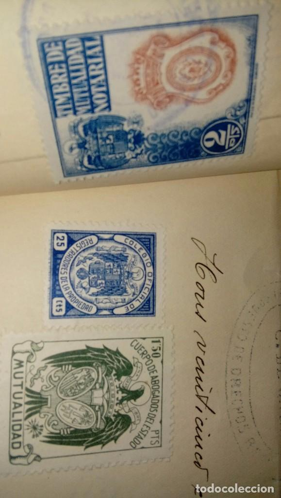 Documentos antiguos: Escritura notarial - Foto 5 - 140592878