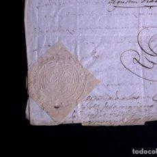 Documentos antiguos: CATALUÑA, URGEL. AUTOS MATRIMONIALES 1852. TIMBROLOGÍA, SELLOS Y FIRMAS.. Lote 140722014