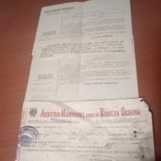 Documentos antiguos: HOJAS INFORMATIVAS,SOBRE CLIENTE,BANCO HISPANO AMERICANO.1953.VALLADOLID-Y ARBITRIO MUNICIPAL.. Lote 140911566