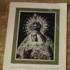Documentos antiguos: SEMANA SANTA SEVILLA, 1964,CARNET HERMANO HERMANDAD DE LA MACARENA. Lote 141640438