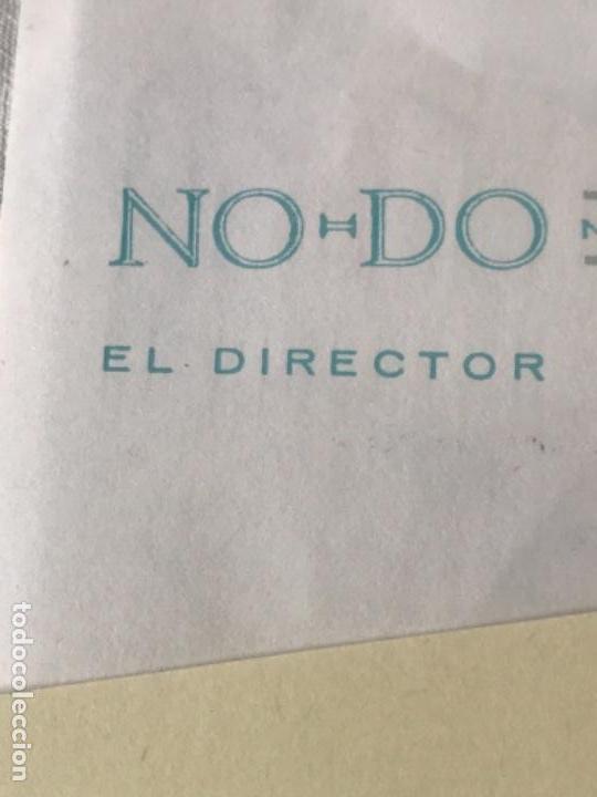 Documentos antiguos: GRAN LOTE DE DOCUMENTOS Y CARTAS DEL DIRECTOR DEL NO-DO MIGUEL MARTIN 1977. VER FOTOS ANEXAS. - Foto 6 - 141811934