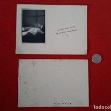 Documentos antiguos: TARGETA DE ENLACE AÑOS 50. Lote 141947134