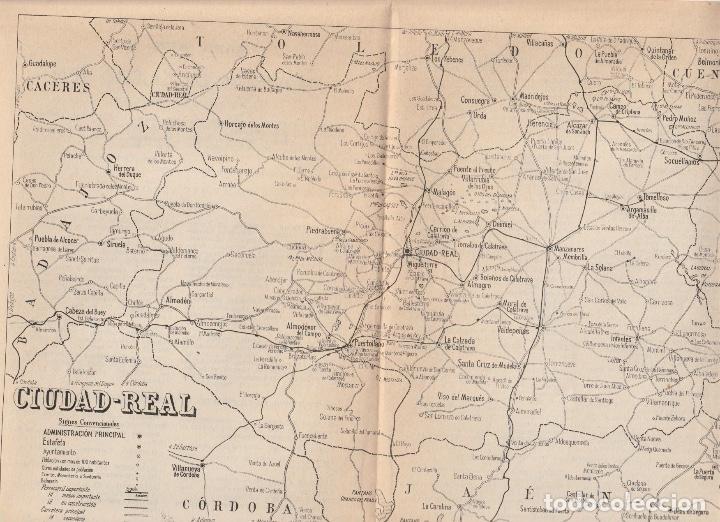 Mapa Provincia Ciudad Real.Mapa Provincia De Ciudad Real Hoja De Revista Doc 9