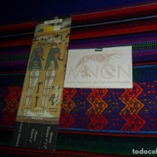 Documentos antiguos: ENTRADA MUSEO ARQUEOLÓGICO NACIONAL Y MUSEO NACIONAL DE CIENCIAS NATURALES DE MADRID.. Lote 142437186