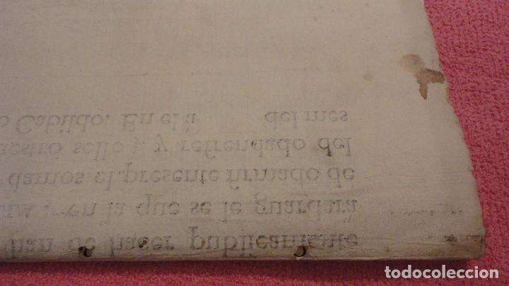 Documentos antiguos: ANTIGUO EDICTO.CAPELLAN MAYOR.REAL CAPILLA NUESTRA SEÑORA DE LOS REYES.SEVILLA SIGLO XVIII? - Foto 8 - 142468366