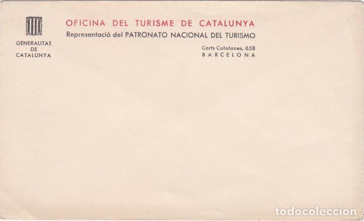 SOBRE OFICINA DEL TURISME DE CATALUNYA, GENERALITAT DE CATALUNYA (Coleccionismo - Documentos - Otros documentos)