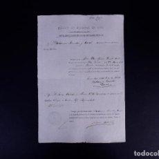 Documentos antiguos: EJÉRCITO DE ULTRAMAR GUANTANAMO, EN CUBA. MULA, MURCIA 1877. Lote 142913422