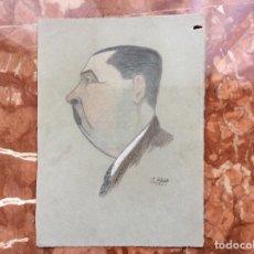 Documentos antiguos: CARICATURA JLARTIACH 1932 28CMX21 CM.. Lote 142966582