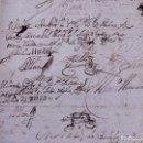 Documentos antiguos: TÍTULO DE LA CAPELLANÍA QUE FUNDÓ D. DIEGO DE LA ROCHA CALDERÓN. BADAJOZ 1731. Lote 143045150