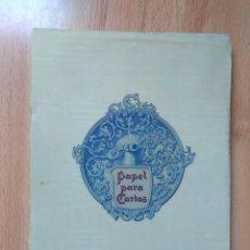 Documentos antiguos: CURIOSO Y ANTIGUO BLOC DE CARTAS. Lote 143057962