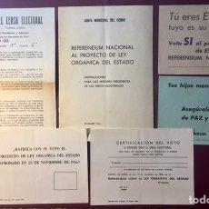 Documentos antiguos: JUNTA MUNICIPAL DEL CENSO ELECTORAL,(1966).. Lote 143826413
