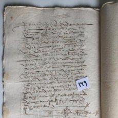 Documentos antiguos: ESCRITURA DE VENTA EN ANTEQUERA , MÁLAGA , S. XVIII. Lote 144100374